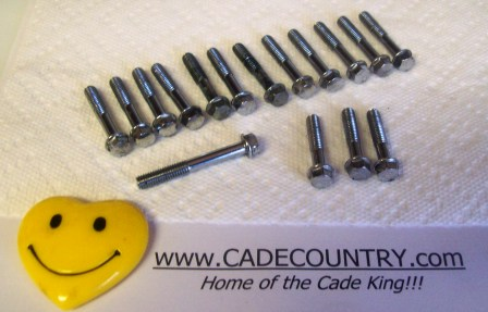 Engine Cover Bolts - Right Hand