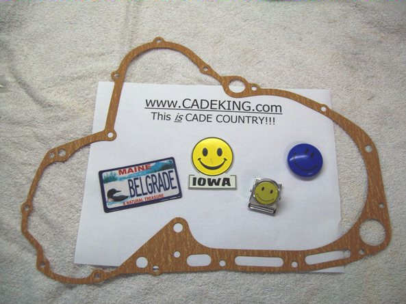 Engine Cover Gasket - Right Hand