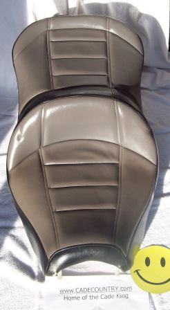 Seat Cover - Drivers, Black/Gray