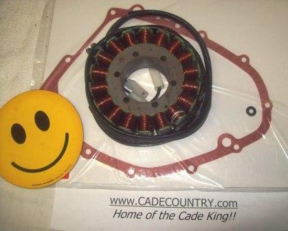 Generator - Stator, Rewound with Gaskets