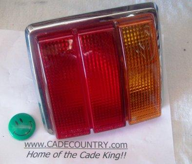 Tail Light Lens (Taillight) - Right Hand
