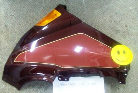 Upper Fairing - Left Hand, BURGUNDY