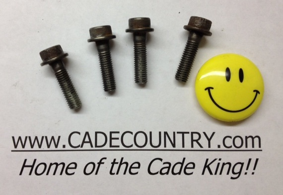 Header Pipe Bolt - Rear, Set