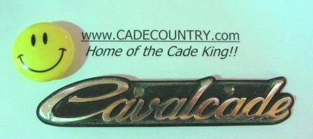 Emblem, Headlamp Cavalcade