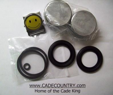 Brake Caliper Kit with Pistons, LATE