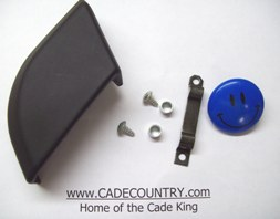 Saddlebag Trim End Cap Kit - Left Hand