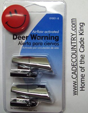 Deer Whistle - Chrome