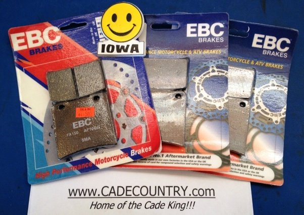 Brake Pads (F&R) Late Model Set, EBC