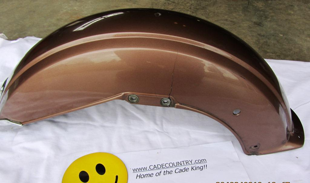 Fender, Front, Brown - USED