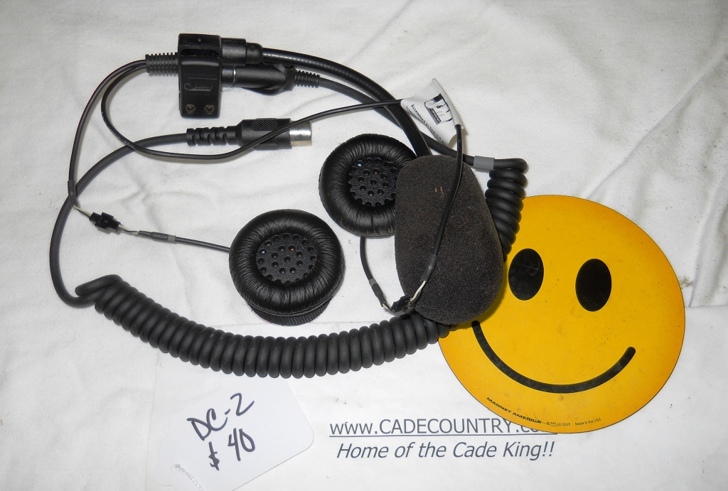 Headset - Open Face, USED