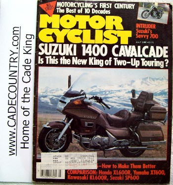 Motorcyclist- July 1985
