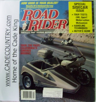 Road Rider - March 1988