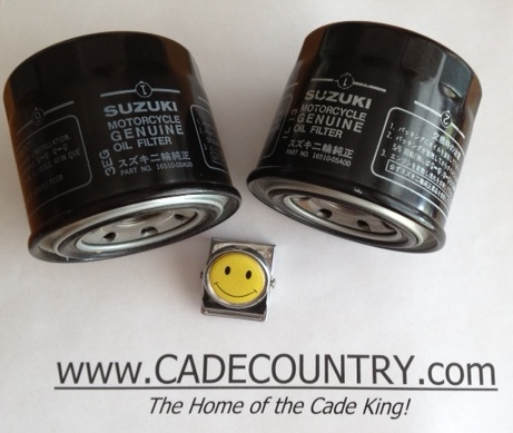 Oil Filter, Suzuki - Early Model