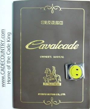 Cavalcade Owner's Manual