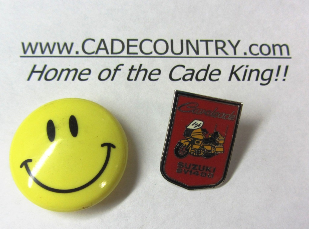 Cavalcade Motorcycle Pin