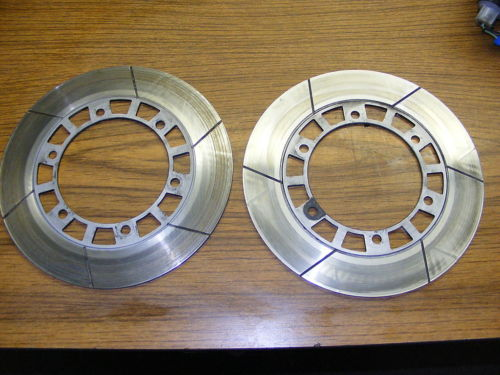 Brake Rotor, Front - PAIR, USED