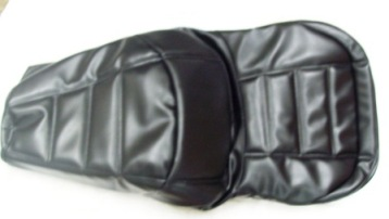 Seat Cover - Drivers Black