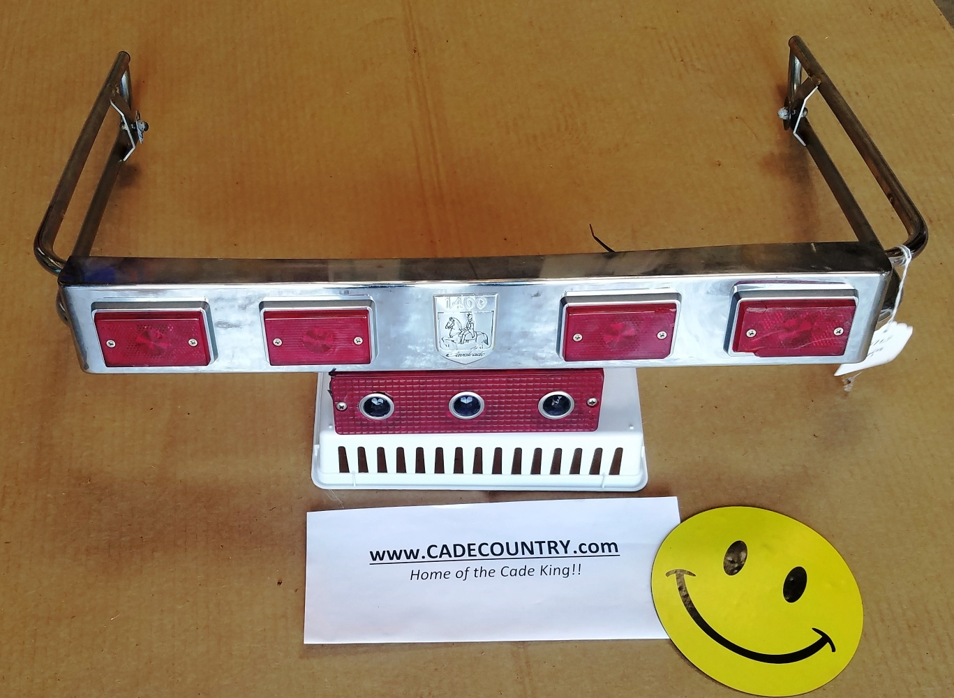 Travel Trunk Trim Set with Suzuki Lamps