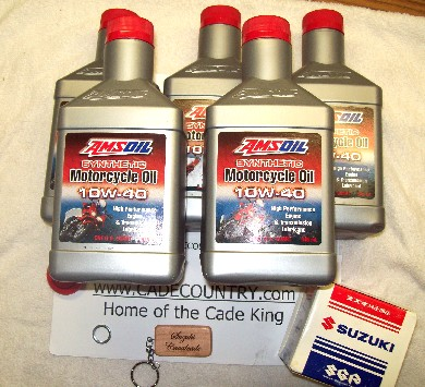 Oil Change Kit with Amsoil - Early Model